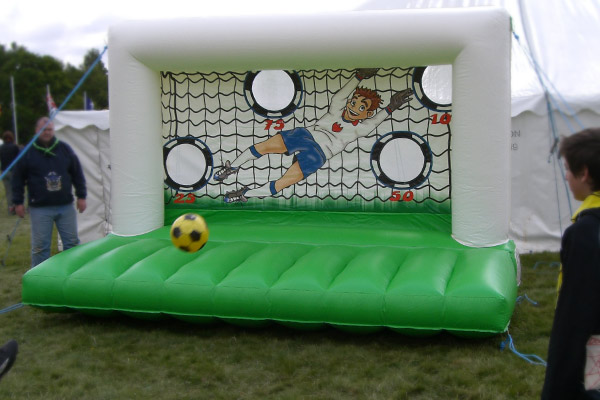 Inflatables For Hire. Giant Inflatable Shoot-Out