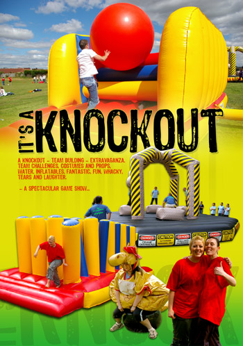 Its A Knockout Team Building