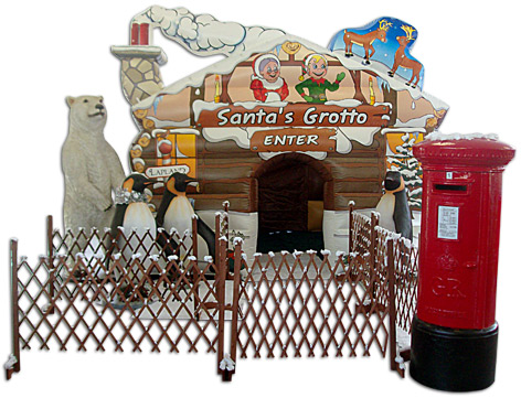 santas grotto to hire